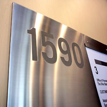 stainless steel signage boards4